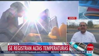 FOTO: Se registran altas temperaturas en Yucatán y Acapulco, 31 Marzo 2019