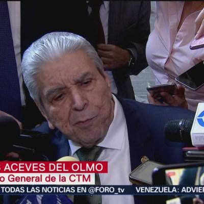 Secretario general de CTM expone sus diferencias con propuesta de reforma laboral