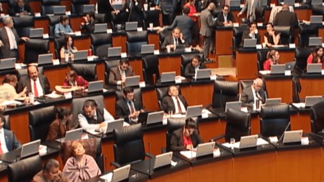 FOTO El pleno del Senado aprueba eliminar fuero para el presidente de la República (Senado de México 27 marzo 2019 cdmx)