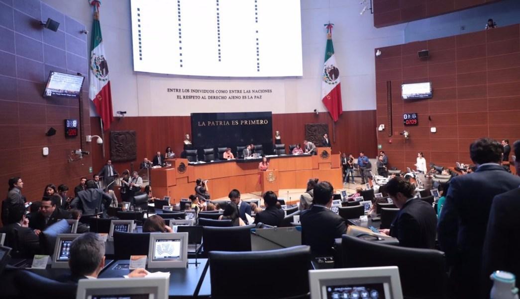 Foto: Senado aprueba Ley Federal de Remuneraciones de los Servidores Públicos, 5 de marzo 2019. Twitter @CanalCongreso