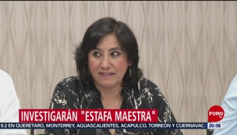 Foto: SFP Comisión Investigar Estafa Maestra 19 de Marzo 2019