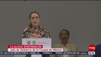 FOTO: Sheinbaum presenta informe de 100 días de Gobierno en la Ciudad de México, 17 marzo 2019