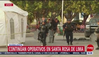 Siguen operativos en Guanajuato contra huachicoleros