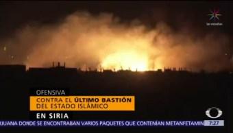 Siria lucha por arrebatar su último bastión al Estado Islámico
