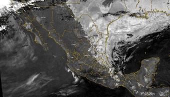Imagen: Sistema frontal número 41 en la República Mexicana, 4 de marzo de 2019, México