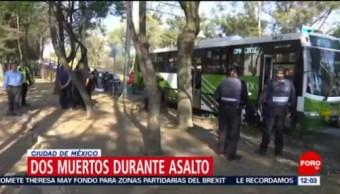 Testigo de asalto a transporte público en Iztapalapa narra hechos