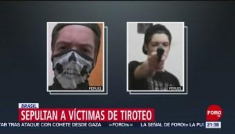 Foto: Tiradores Escuela Brasil Masacre Columbine 14 de Marzo 2019