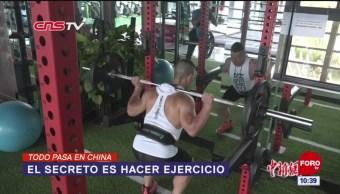 Todo Pasa En China: El secreto es hacer ejercicio