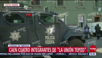 Foto: Tras cateo detienen a presuntos integrantes de 'La Unión Tepito'