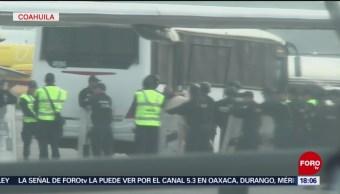 FOTO: Trasladan 525 reos a Cefereso en Coahuila, 10 marzo 2019