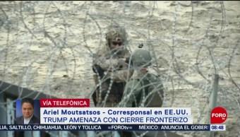 FOTO: Trump amenaza con cerrar la frontera sur de Estados Unidos, 30 Marzo 2019