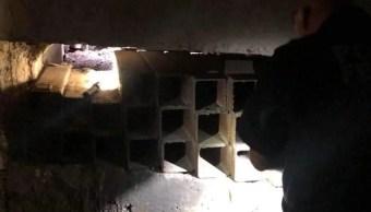 Localizan túnel en Sonora con salida a una alcantarilla en EEUU