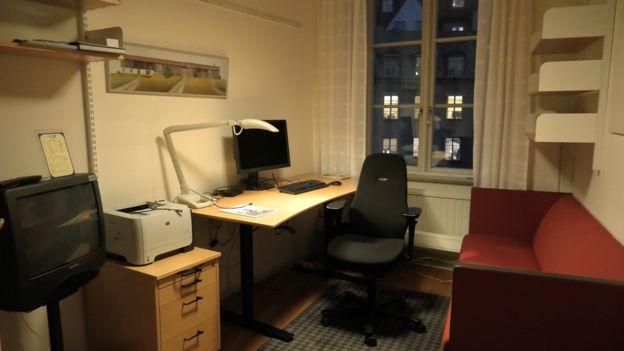 Una oficina común de un legislador sueco en Estocolmo (GettyImages)