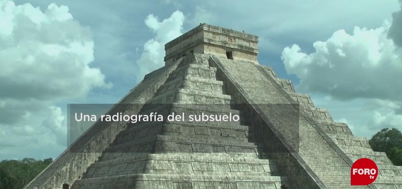 FOTO: UNAM realiza radiografía del subsuelo de Chichén Itzá, 9 marzo 2019