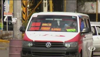 Foto: Transporte Público Teme Extorsionadores Tecámac 26 de Marzo 2019
