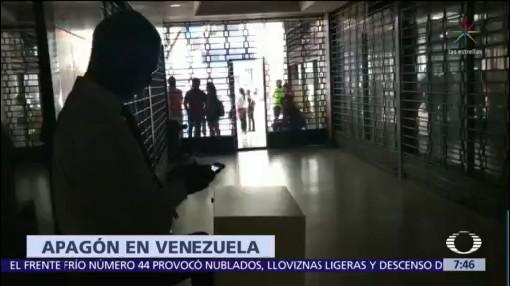 Venezuela sufre pérdidas millonarias por apagón