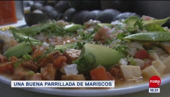 Viernes Culinario: Una buena parrillada de marisco