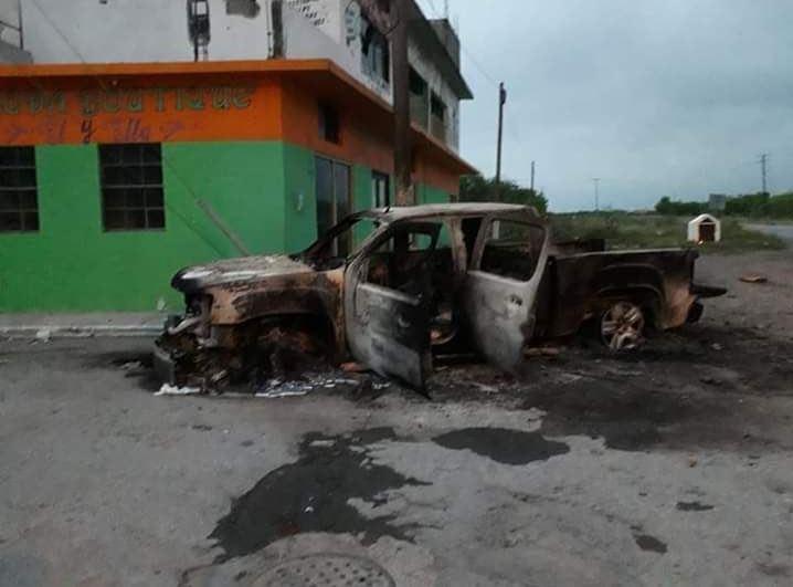 Foto: Las primeras versiones señalan que durante los enfrentamientos se reportó la muerte de por lo menos una persona, el 23 de marzo de 2019 (Twitter @SDRTamaulipas_)