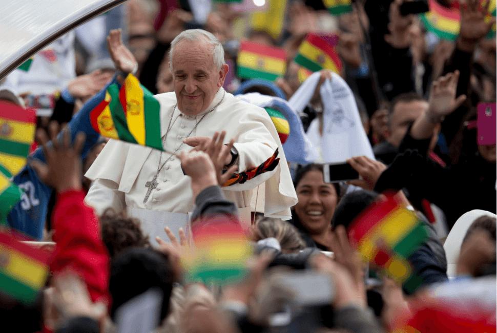 Foto: Visita del papa Francisco a Bolivia, 8 de julio de 2015, Bolivia