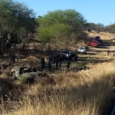 Volcadura de vehículo militar deja un muerto y 8 lesionados en Jalisco