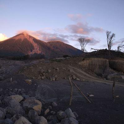 Aumenta la actividad del volcán de Fuego en Guatemala