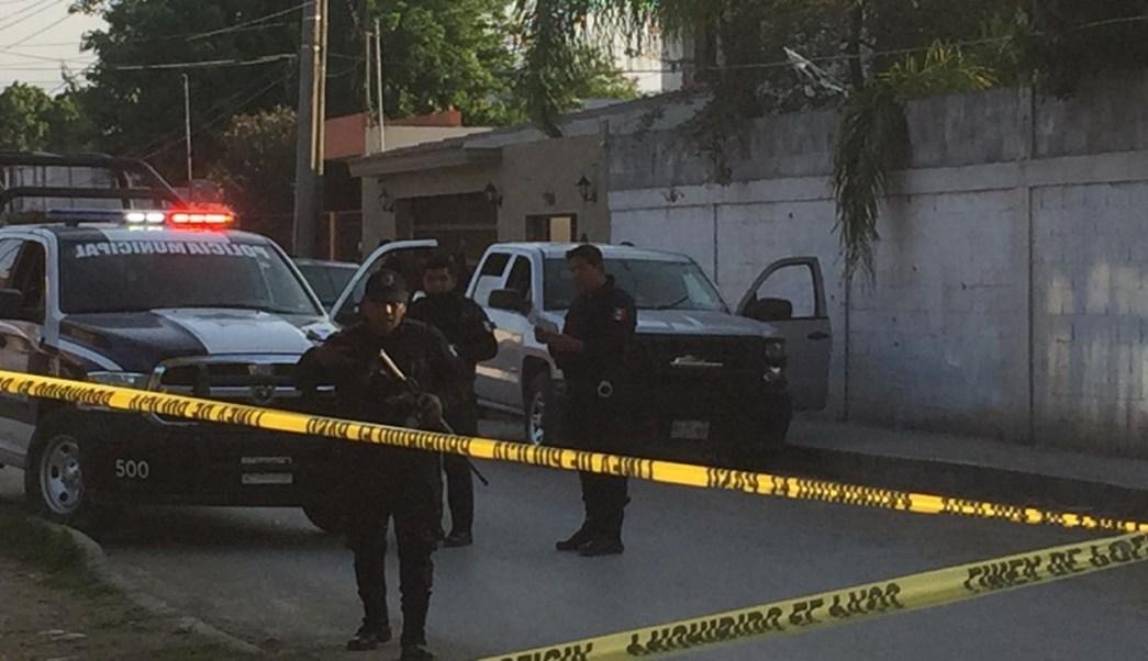 disparan contra casa del alcalde de cadereyta hay dos heridos