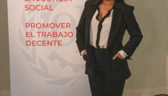 Yalitza Aparicio oradora en el centenario de la OIT, Twitter, @OITnoticias, 7 de marzo de 2019