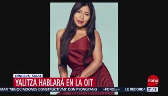 Foto: Yalitza Aparicio Hablará Derechos Laborales OIT 7 de Marzo 2019