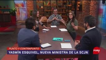 Foto: Yasmín Esquivel Nueva Ministra Senado 13 de Marzo 2019