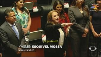 Foto: Yasmín Esquivel Mossa Nueva Ministra SCJN 12 de Marzo 2019