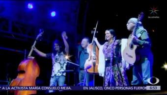 Yo-yo Ma ofrece concierto en Monumento a la Revolución