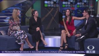 Zuria Vega y Alberto Guerra presentan 'En las buenas y en las malas'