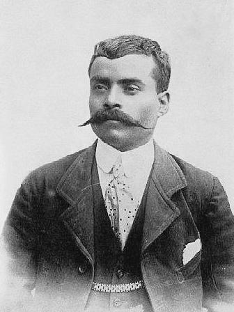 Emiliano Zapata en 1915 (CC/Wikimedia)