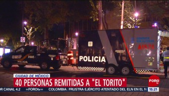 FOTO: 40 automovilistas son remitidos al 'Torito' en Semana Santa en CDMX, 20 ABRIL 2019