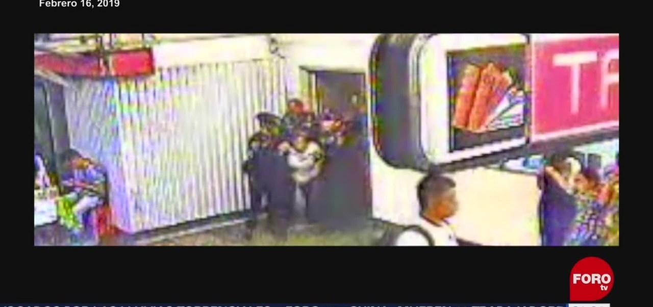 Foto: Procedimientos Personal Accidentes Metro Cdmx 25 de Abril 2019