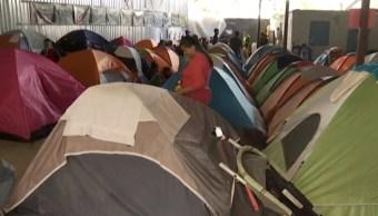 Albergues para migrantes en Tijuana, a su máxima capacidad; ya no caben