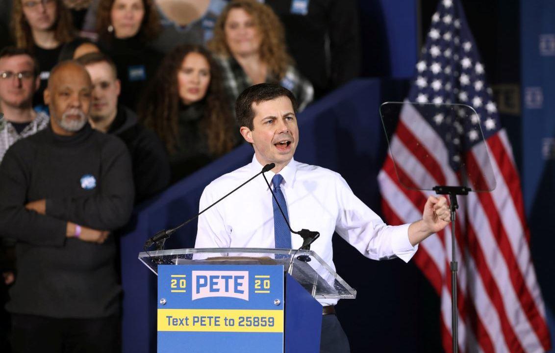 Foto: Buttigieg sería el primer nominado abiertamente gay en uno de los principales partidos políticos, el 14 de abril de 2019 (Reuters)
