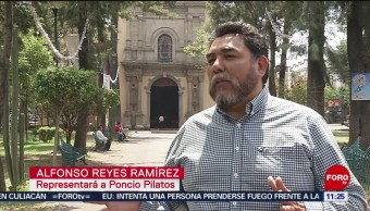 FOTO: Alfonso Reyes interpretará a Poncio Pilatos en Iztapalapa, 13 de abril 2019