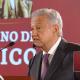 Foto: El presidente Andrés Manuel López Obrador en conferencia de prensa, 17 de abril de 2019, México