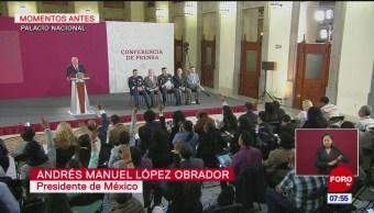 AMLO afirma que habitantes de Santa Lucía aceptan construcción del aeropuerto