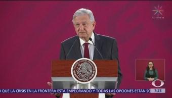 AMLO considera absurda la denuncia del PAN ante OEA
