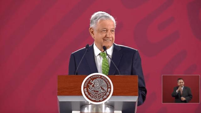 Foto: AMLO en conferencia de prensa, 16 de abril de 2019, Ciudad de México