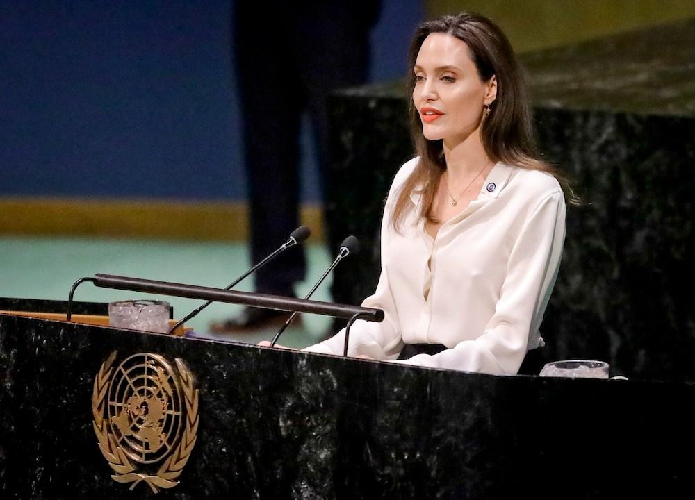 Foto No puede haber paz sin las mujeres: Angelina Jolie en la ONU 1 abril 2019