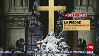 Foto: Reliquias Obras Arte Notre Dame 15 de Abril 2019
