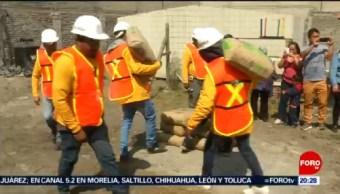 Foto: Construcción Viviendas Afectadas Sismo 19-S CDMX Reconstrucción 1 de Abril 2019