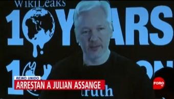 Foto: Arrestan Julian Assange Fundador Wikileaks 11 de Abril 2019