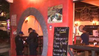 Foto: Asalto a clientes de un restaurante bar en la colonia San Pedro de los Pinos, 25 abril 2019