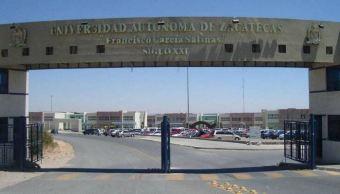 Asesinan a balazos a estudiante dentro Universidad Autónoma de Zacatecas