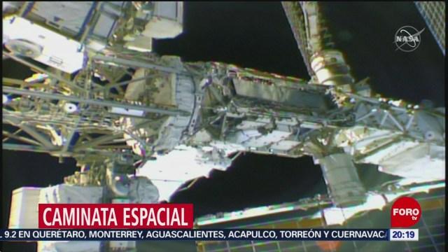 Foto: Astronautas Realizan Caminata Espacial Seis Horas 8 de Abril 2019