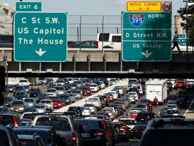 Autopista 395 Norte, de las más transitadas de Estados Unidos (Reuters)